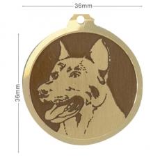medaille chien bauceron