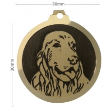 medaille chien cocker anglais