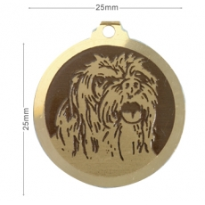 medaille chien dandie dinmont