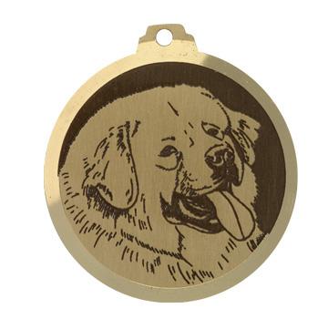 medaille chien dog du tibet