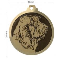 medaille chien griffon vendeen