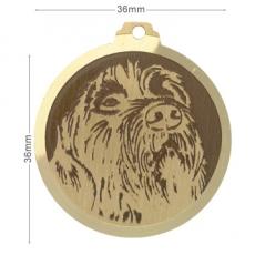 medaille chien kortal