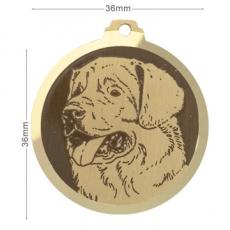 medaille chien leonberg