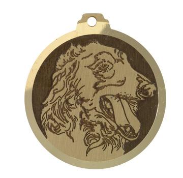 medaille chien levrier barzoi