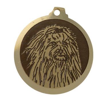 medaille chien lion