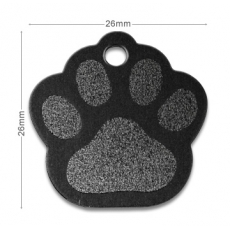 medaille chien patte