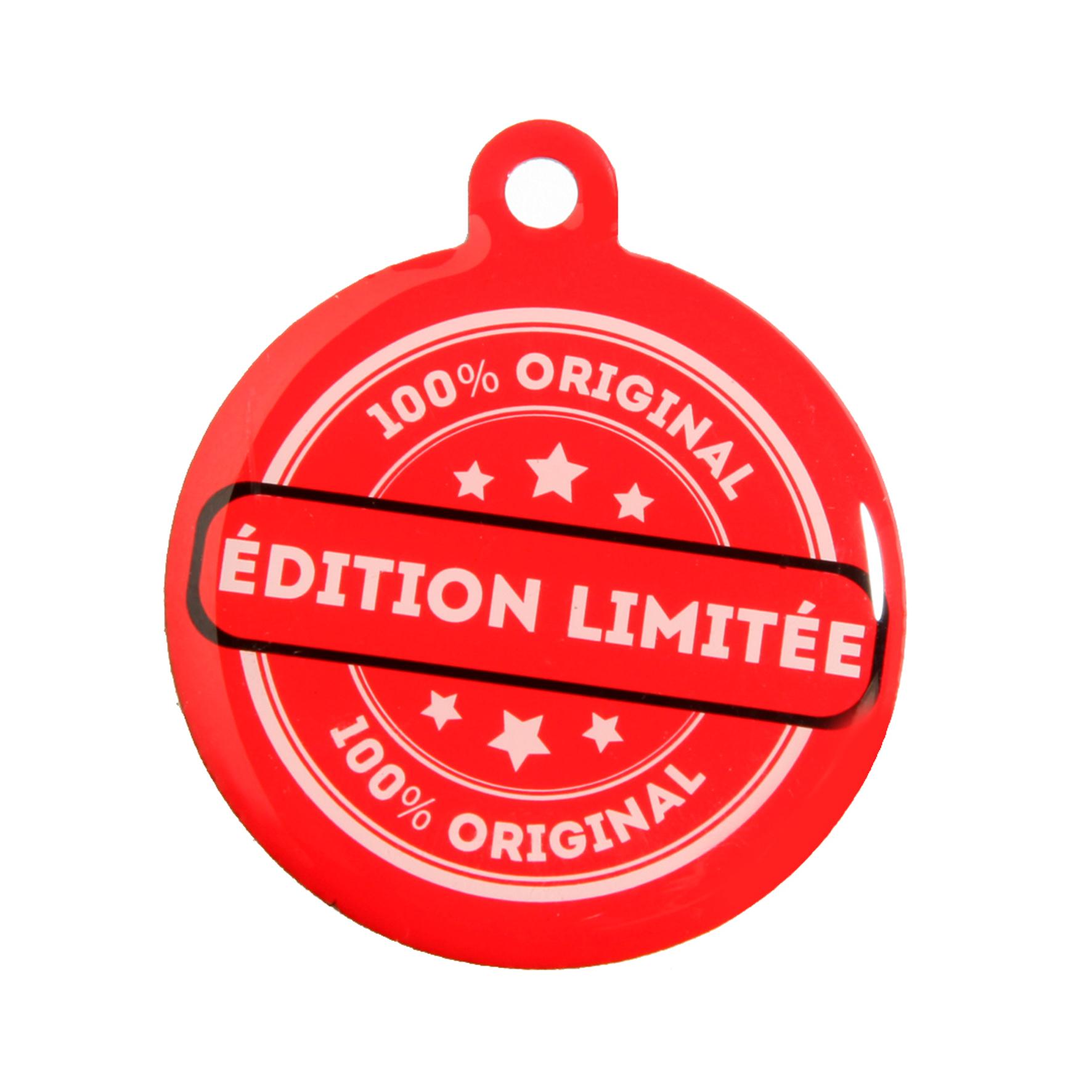 medaille chien qr code edition limitee