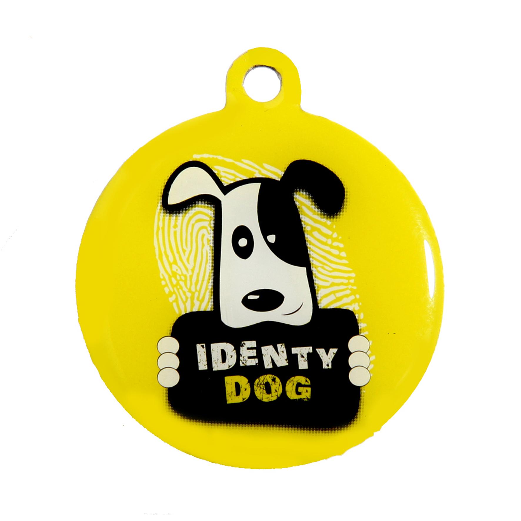 medaille chien qr code identydog