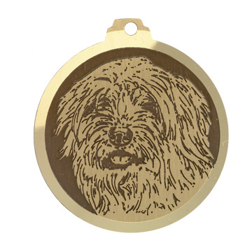 medaille chien schapendoes