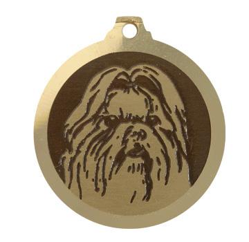 medaille chien shih tzu