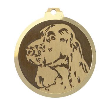 medaille chien springer spaniel