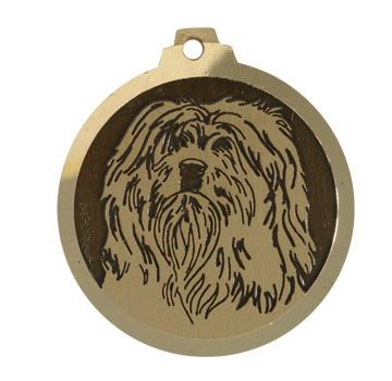 medaille chien terrier du tibet