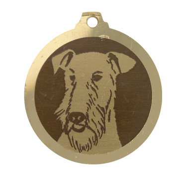 medaille chien welsh terrier