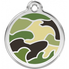 Medaille Chien RED DINGO Camouflage 30mm