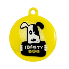 Médaille QR code IdentyDog